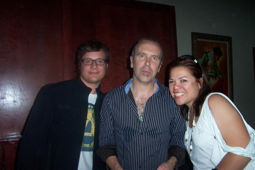 My fellow Finnhead Jeff, Nick Seymour!!! and moi