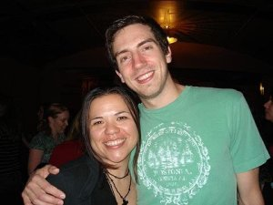 Me and Gary Lightbody from Snow Patrol last time they toured. Sigh!