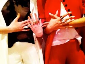 Look at those rings!